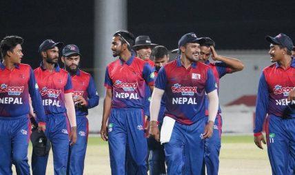 पीएनजी विरुद्धको दोस्रो खेलमा नेपाल १५१ रनले विजयी